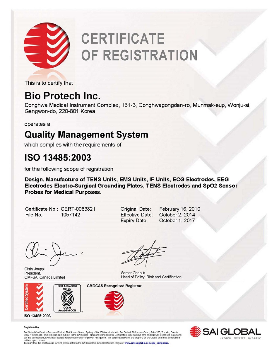 Quality Certification|Bio-Protech